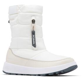 Columbia Paninaro Omni-Heat Pull On WP Winterstiefel Damen white/fawn